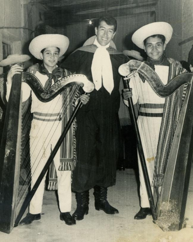 1966, with Nicolas Caballero