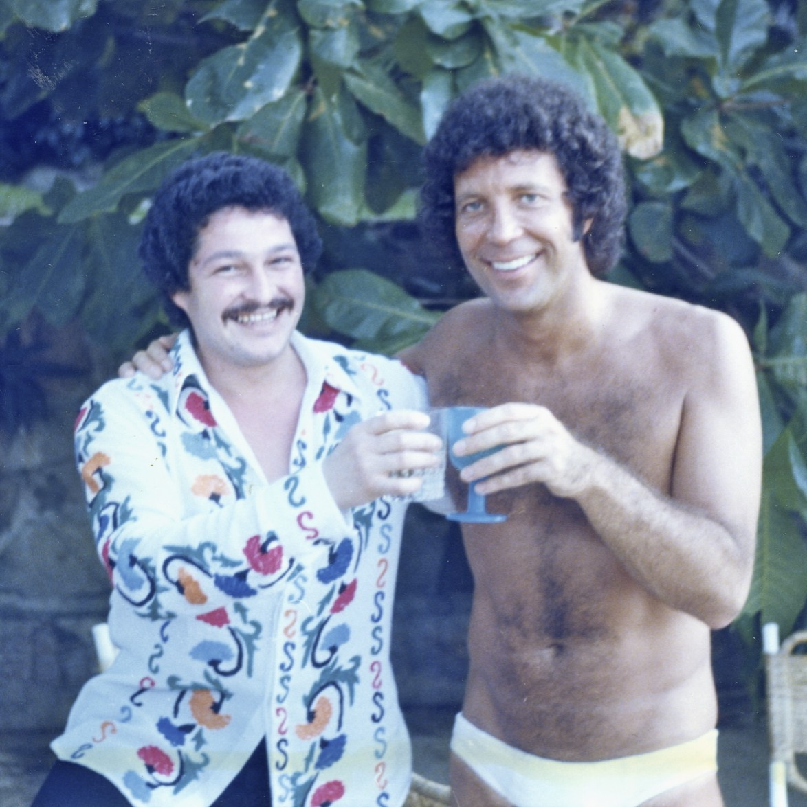 With Tom Jones